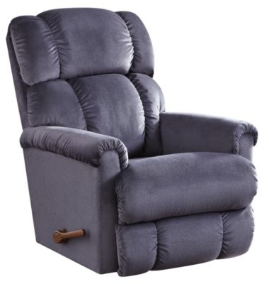 Pinnacle II Rocker Recliner, Brown, Blue, swatch