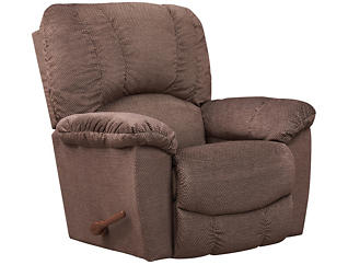 La-Z-Boy Hayes-II Rocker Recliner, Brown, , large