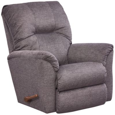La-Z-Boy Gabe Rocker Recliner, Grey, Grey, swatch