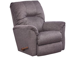 La-Z-Boy Gabe Rocker Recliner, Grey, , large