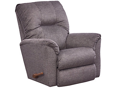 La-Z-Boy Gabe Rocker Recliner, Grey, Grey, large