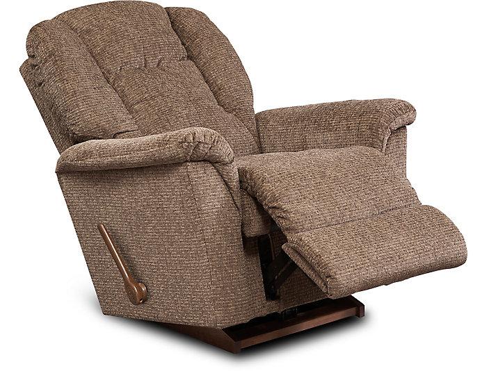 Awesome Jasper Iii Chocolate Rocker Recliner Machost Co Dining Chair Design Ideas Machostcouk