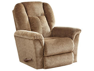 La-Z-Boy Jasper II Rocker Recliner, Brown, , large