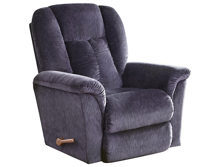 La-Z-Boy Jasper II Rocker Recliner, Blue, , large