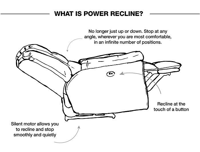 La-Z-Boy Lancer XR Power Recliner, Brown, , large