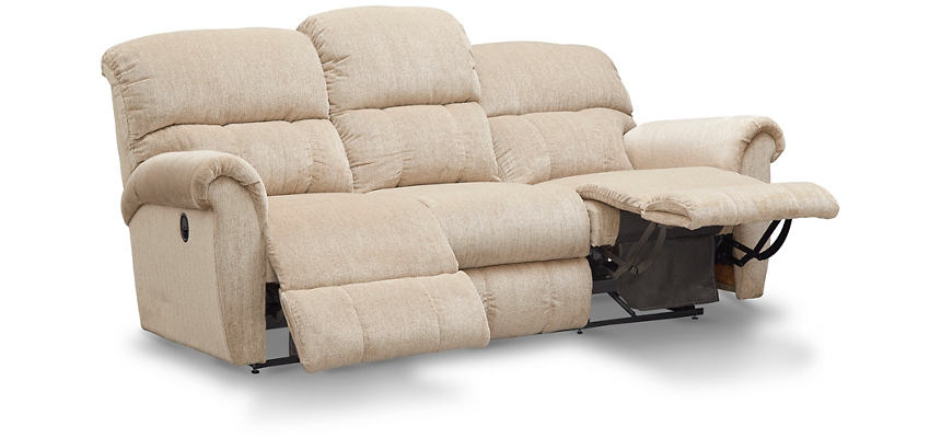Briggs Reclining Sofa, Beige, , Large