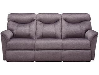 La-Z-Boy Fortune Reclining Sofa, Grey, , large