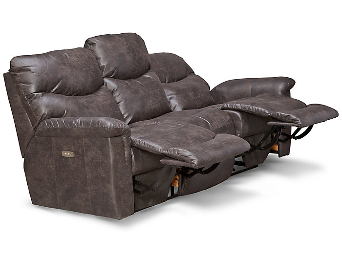 Stupendous James Steel Power Reclining Sofa Pdpeps Interior Chair Design Pdpepsorg
