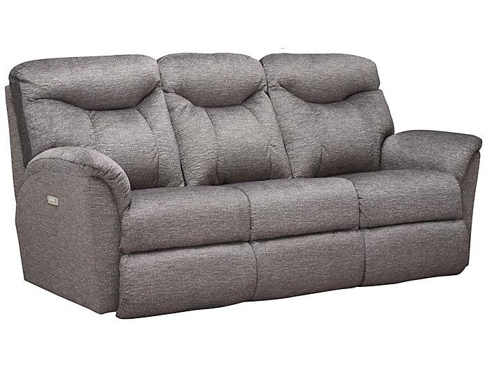 Marvelous Fortune Grey Power Reclining Sofa Machost Co Dining Chair Design Ideas Machostcouk