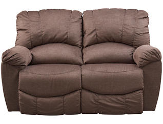La-Z-Boy Hayes-II Reclining Loveseat, Brown, , large
