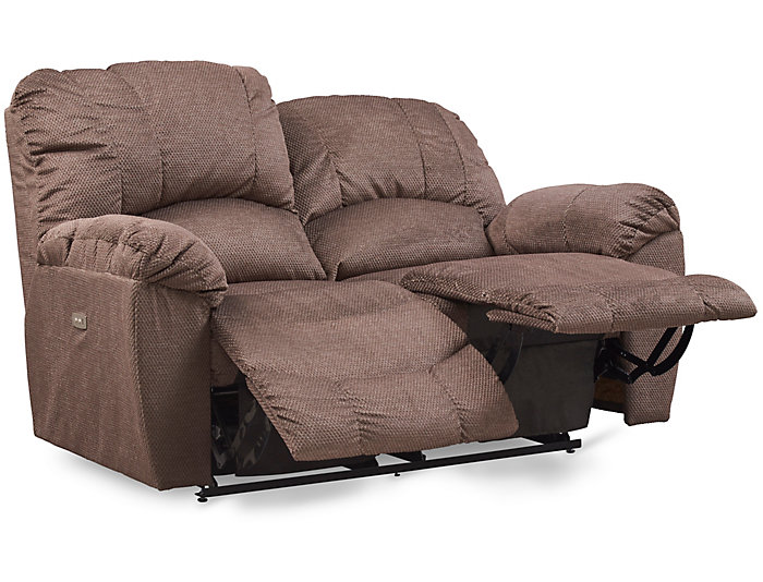 La-Z-Boy Hayes-II Power Reclining Loveseat, Brown, , large