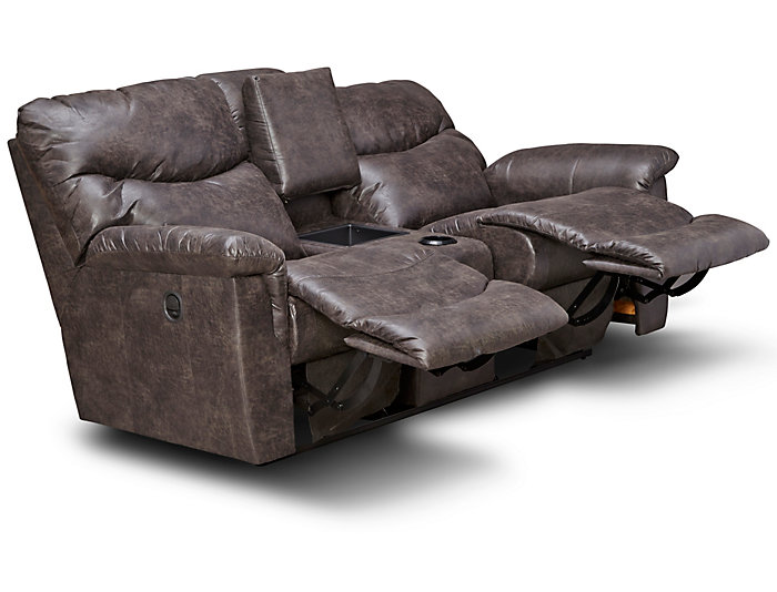 Phenomenal James Reclining Console Loveseat Gamerscity Chair Design For Home Gamerscityorg