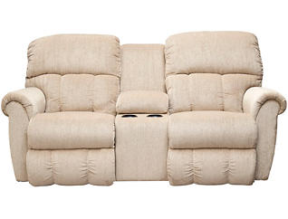 La-Z-Boy Briggs III Reclining Loveseat, Beige, , large
