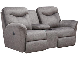 Fortune Reclining Console Loveseat, , large