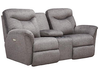 Fortune Power Reclining Console Loveseat, , large