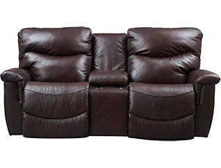 Terrific James Dual Power Console Loveseat Caraccident5 Cool Chair Designs And Ideas Caraccident5Info