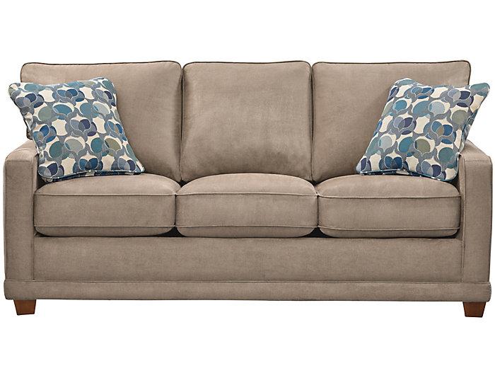 Enjoyable La Z Boy Kennedy Ii Queen Sleeper Sofa Grey Art Van Evergreenethics Interior Chair Design Evergreenethicsorg