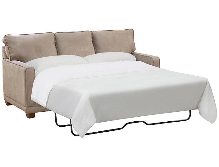 Stupendous La Z Boy Kennedy Ii Queen Sleeper Sofa Grey Art Van Evergreenethics Interior Chair Design Evergreenethicsorg