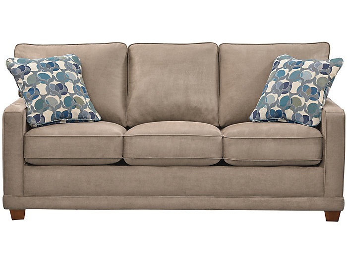 La-Z-Boy Kennedy II Sofa, Granite, Granite, large ...