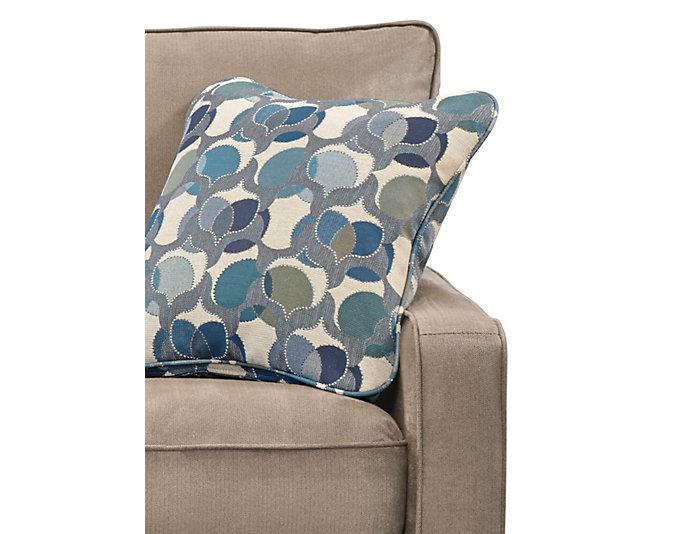 Kennedy II Sofa, Granite, Granite, large
