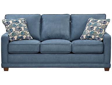 Kennedy II Sofa, Indigo, large
