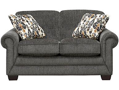Mackenzie VI Loveseat, Grey, , large