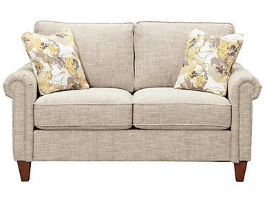 Leighton III Loveseat, Beige, , large
