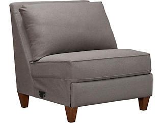 Edie Armless Chair, , large