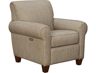 Pleasant Bennett Taupe Power Recliner Dailytribune Chair Design For Home Dailytribuneorg
