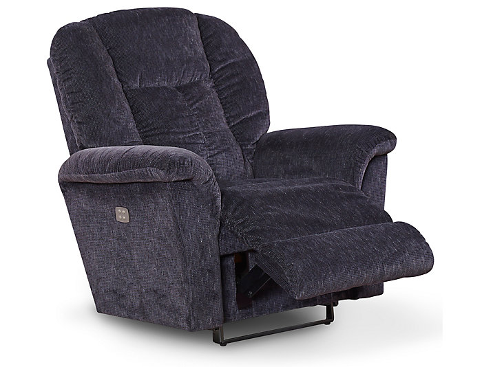 La-Z-Boy Jasper II Power Rocker Recliner, Blue, , large