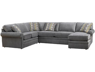 Collins-II 4 PC Sectional, , large