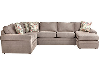 Collins-III 4 PC. Sectional, , large