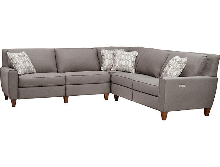 Surprising Edie 3 Piece Sectional Art Van Home Uwap Interior Chair Design Uwaporg