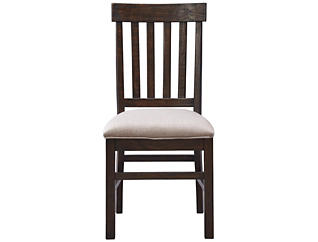 St. Claire Rustic Pine Dining Side Chair, , large
