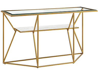 Florissant Gold Sofa Table, , large