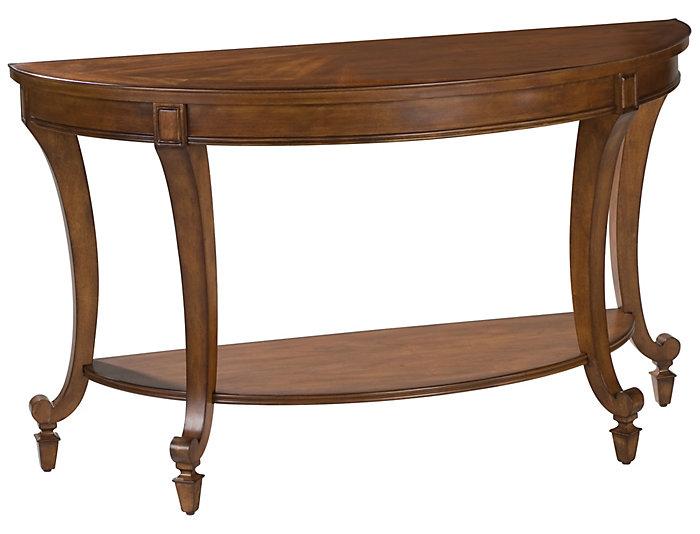 Aidan Demilune Sofa Table, Cinnamon, , large
