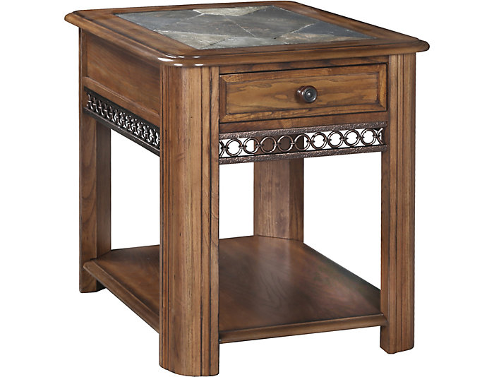Oswego End Table with Drawer, , large