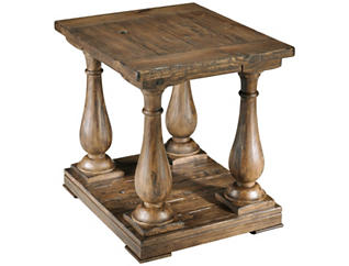 Densbury Rectangular End Table, Pine, , large