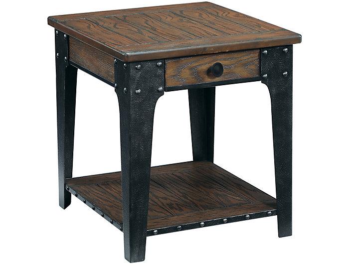 Saratoga Rectangle End Table, , large