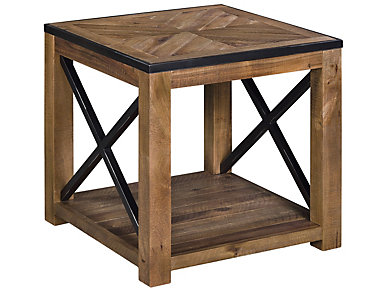 Penderton Natural Sienna End Table, , large