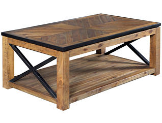 Lift Top Coffee Table, Natural, , large