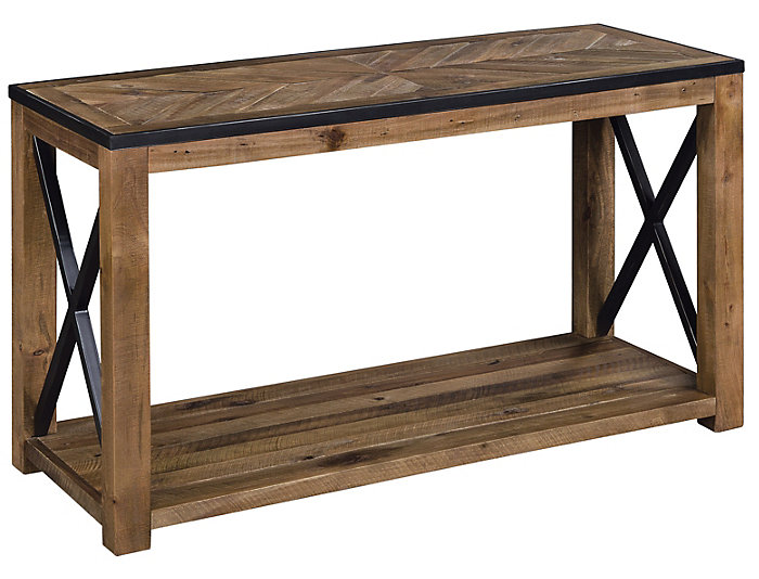 Penderton Sofa Table, Natural, , large