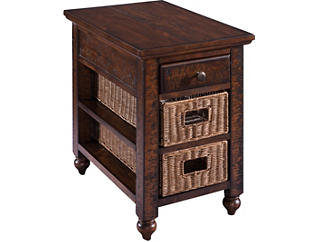 Dunlap Chairside Table, , large