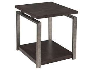 Alton Rectangular End Table, Metal, , large
