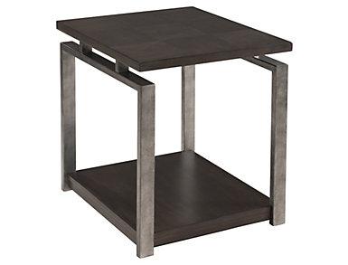 Alton Rectangular End Table, Metal, , large