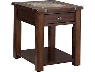 Roanoke Rectangular End Table, , large