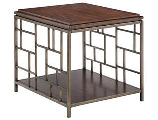 Murdock Rectangular End Table, Tobacco, , large