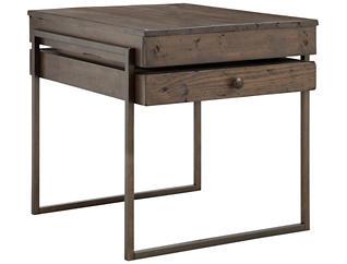Kirkwood Rectangular End Table, Brown, , large