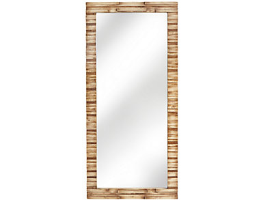 Natural Tones Floor Mirror, , large