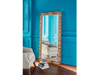 Natural Tones Floor Mirror, , large